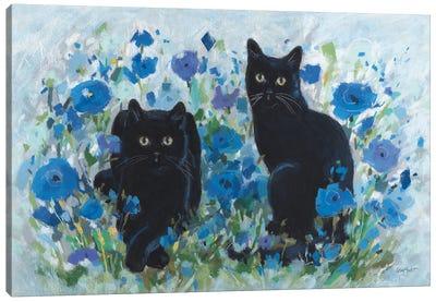 Blueming XII Canvas Art Print