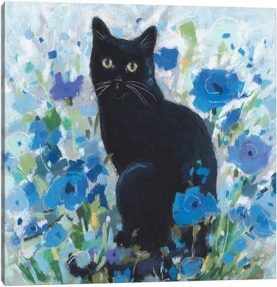 Blueming XIV Canvas Art Print
