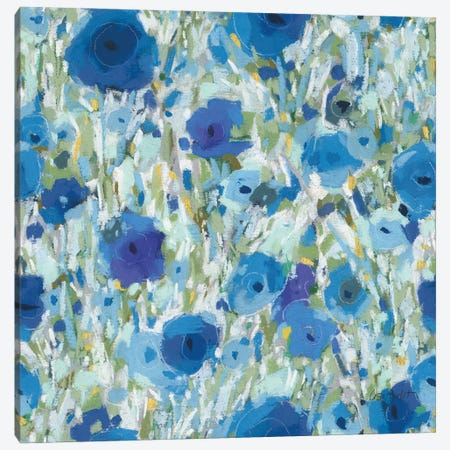Blueming XVI Canvas Print #UDI166} by Lisa Audit Art Print