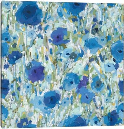 Blueming XVI Canvas Art Print