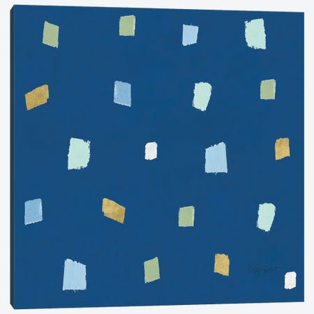 Blueming XXI on Blue Canvas Print #UDI168} by Lisa Audit Canvas Artwork