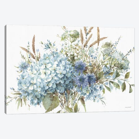 Bohemian Blue IA Canvas Print #UDI170} by Lisa Audit Canvas Print