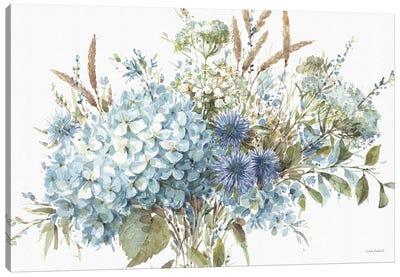 Bohemian Blue IA Canvas Art Print