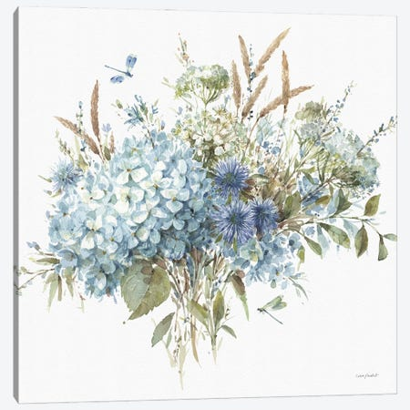 Bohemian Blue IB Canvas Print #UDI171} by Lisa Audit Canvas Art Print