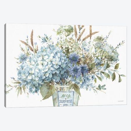 Bohemian Blue IIA Canvas Print #UDI172} by Lisa Audit Canvas Print