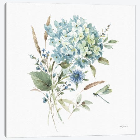 Bohemian Blue IIIA Canvas Print #UDI174} by Lisa Audit Canvas Artwork