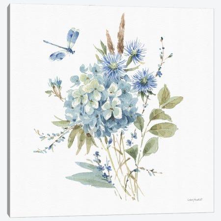Bohemian Blue IVA Canvas Print #UDI176} by Lisa Audit Canvas Art