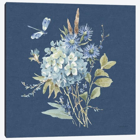 Bohemian Blue IVB Canvas Print #UDI177} by Lisa Audit Canvas Art