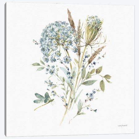 Bohemian Blue VA Canvas Print #UDI178} by Lisa Audit Canvas Art Print