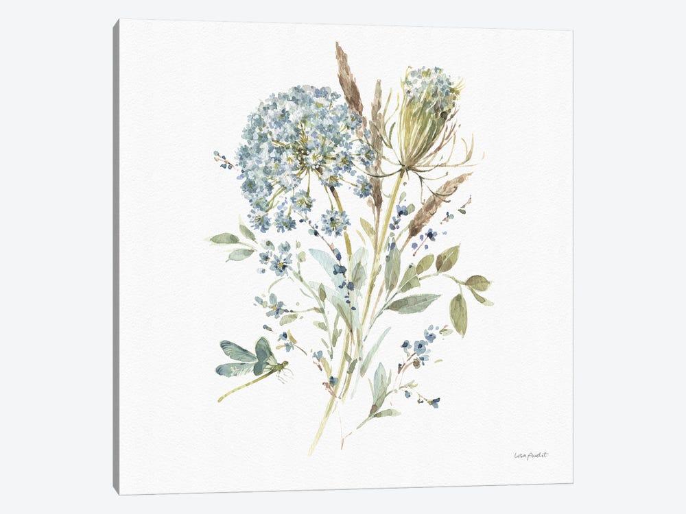 Bohemian Blue VA by Lisa Audit 1-piece Canvas Art Print