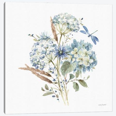Bohemian Blue VIA Canvas Print #UDI180} by Lisa Audit Canvas Artwork
