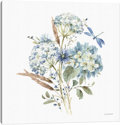 Bohemian Blue VIA Canvas Art Print