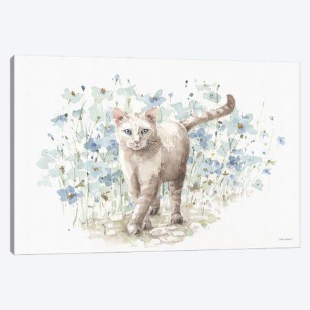 Bohemian Blue IXA Canvas Print #UDI185} by Lisa Audit Art Print