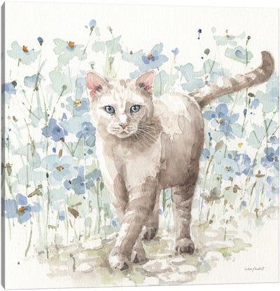 Bohemian Blue IXB Canvas Art Print