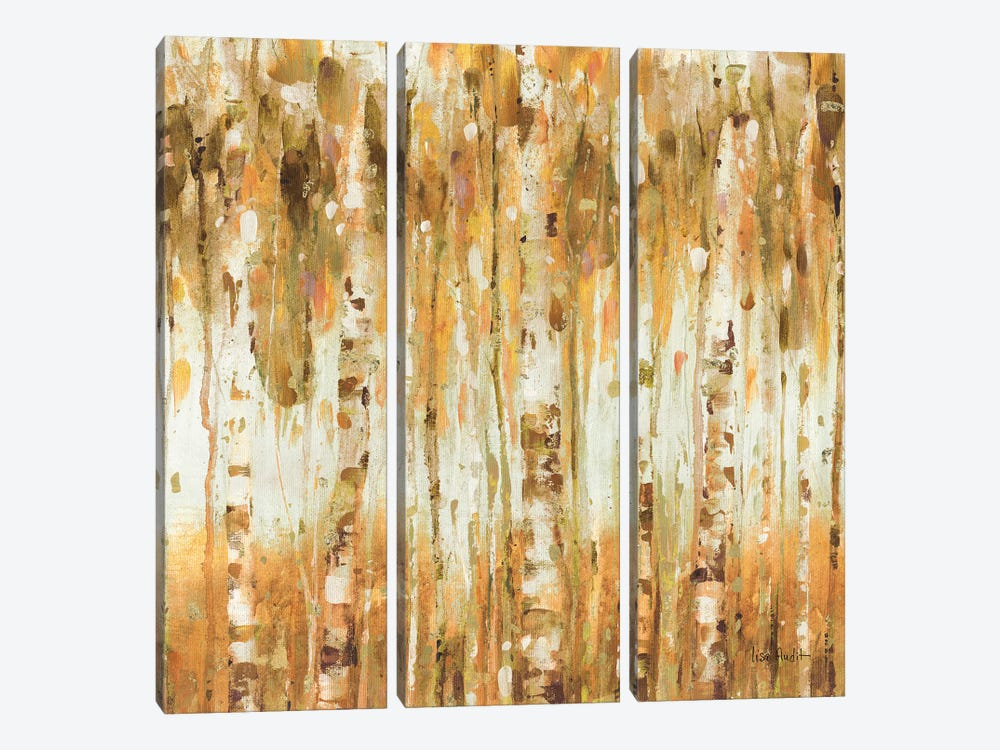 The Forest I Fall by Lisa Audit 3-piece Canvas Art