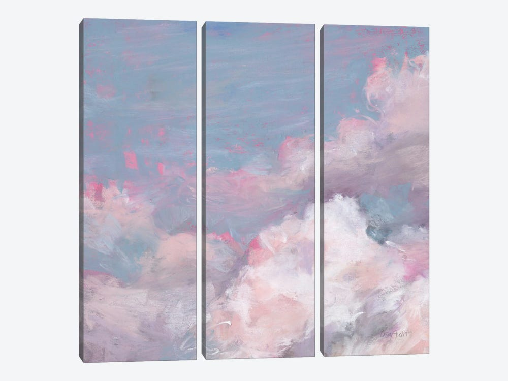 Daydream Pink III by Lisa Audit 3-piece Canvas Artwork