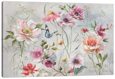 Antique Garden I Canvas Art Print