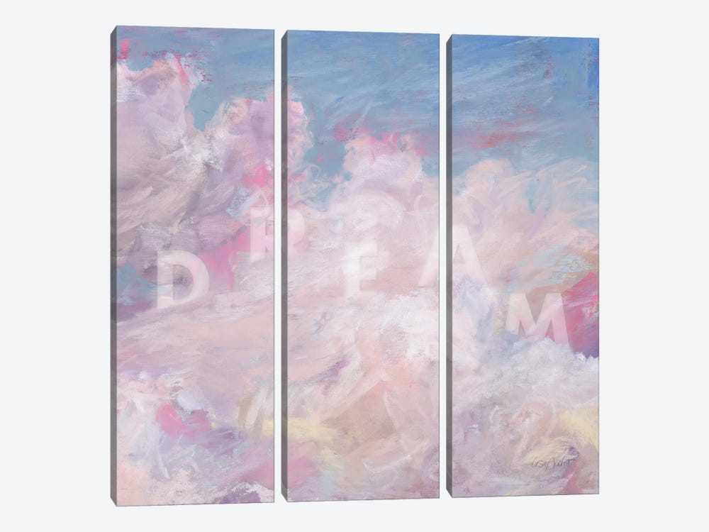 Daydream Pink IV by Lisa Audit 3-piece Canvas Art