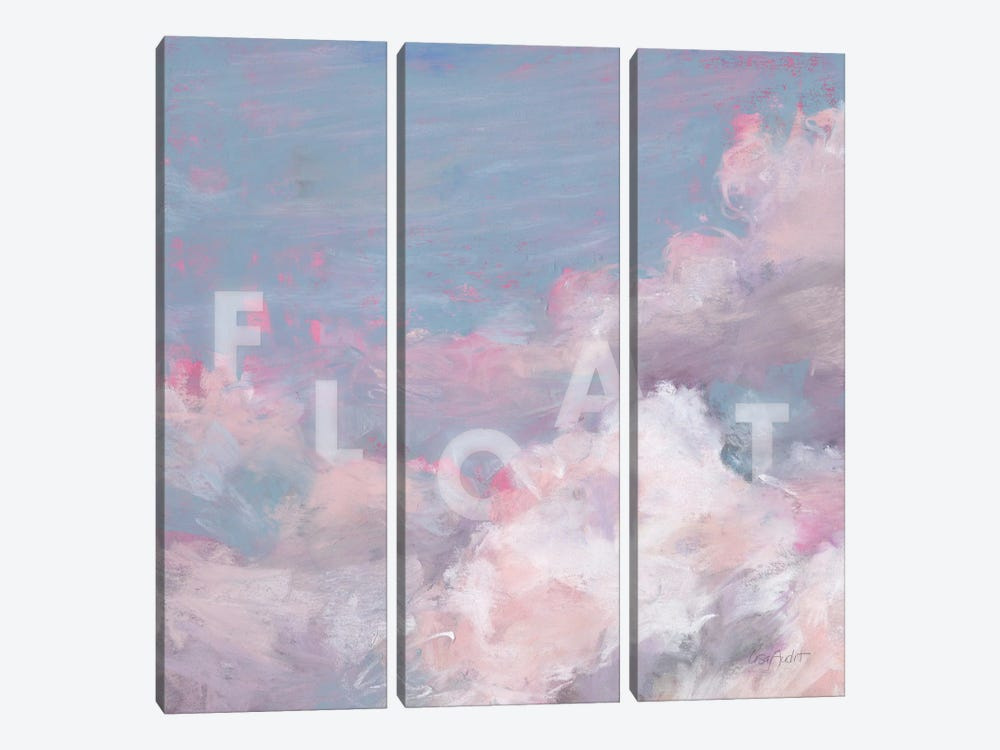 Daydream Pink V by Lisa Audit 3-piece Canvas Art Print