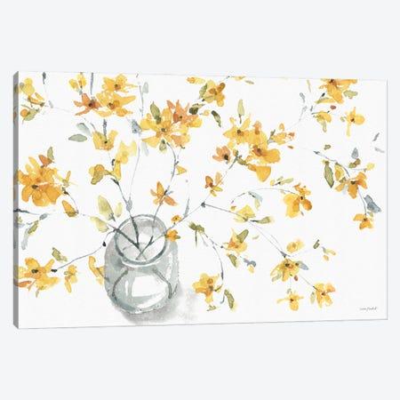Happy Yellow IIA Canvas Print #UDI203} by Lisa Audit Canvas Print