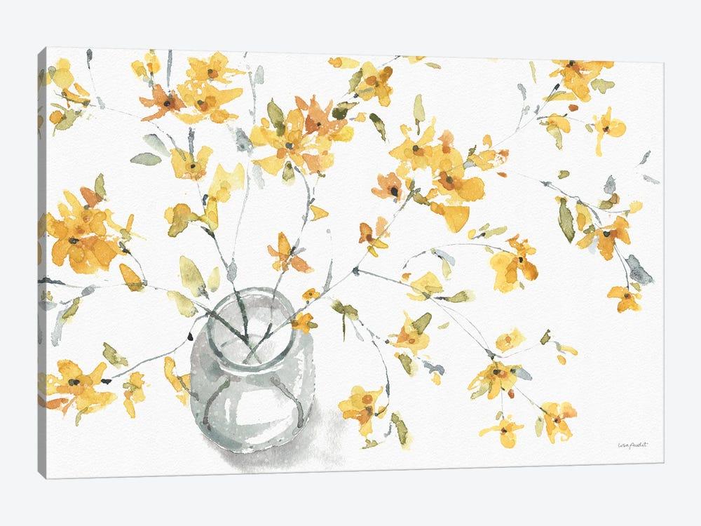 Happy Yellow IIA by Lisa Audit 1-piece Canvas Print