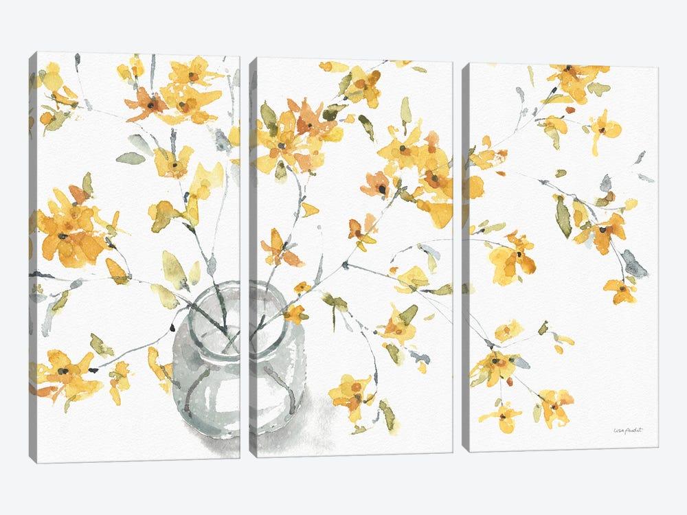 Happy Yellow IIA by Lisa Audit 3-piece Art Print