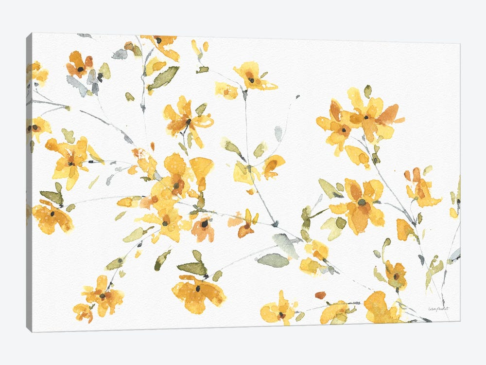 Happy Yellow IIIA by Lisa Audit 1-piece Canvas Wall Art