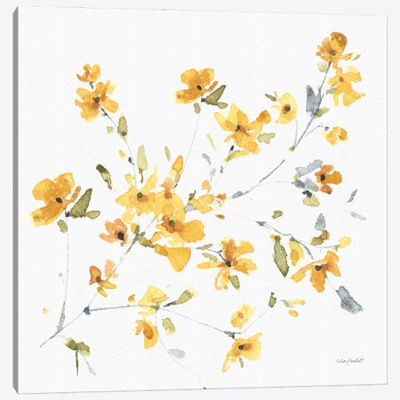 Happy Yellow IVA Canvas Print #UDI205} by Lisa Audit Canvas Artwork