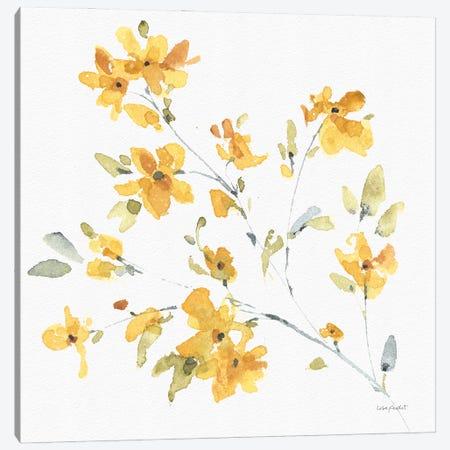 Happy Yellow VA Canvas Print #UDI206} by Lisa Audit Canvas Art