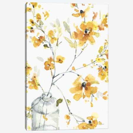 Happy Yellow VIA Canvas Print #UDI207} by Lisa Audit Canvas Artwork