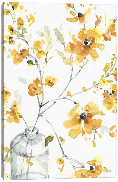 Happy Yellow VIA Canvas Art Print