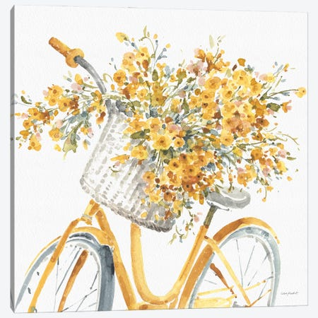 Happy Yellow VIIB Canvas Print #UDI209} by Lisa Audit Canvas Print