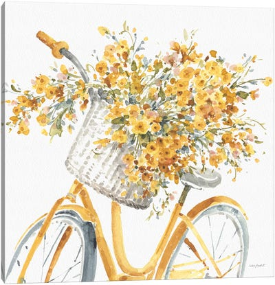 Happy Yellow VIIB Canvas Art Print