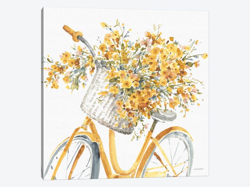 Happy Yellow VIIB by Lisa Audit 1-piece Canvas Art Print