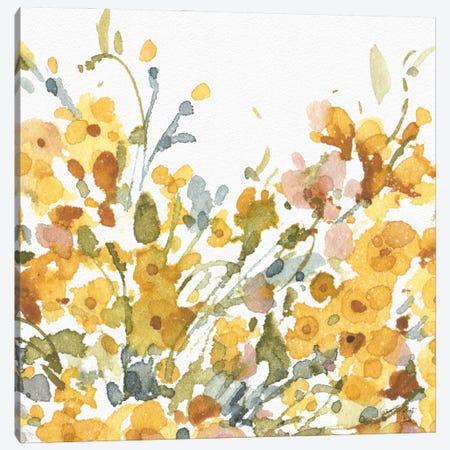 Happy Yellow VIIIA Canvas Print #UDI210} by Lisa Audit Canvas Artwork