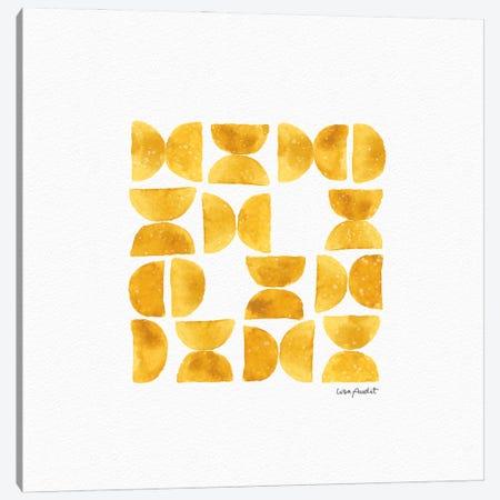 Happy Yellow XA Canvas Print #UDI212} by Lisa Audit Canvas Art