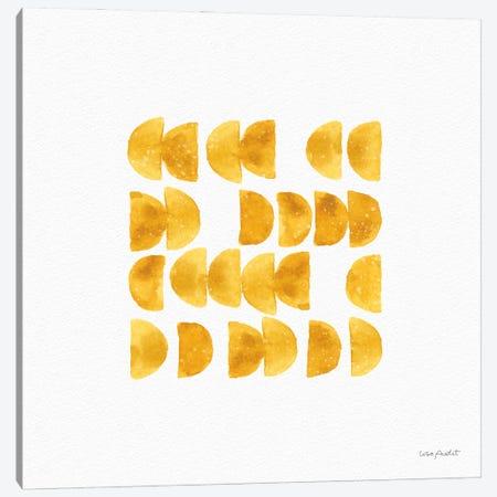 Happy Yellow XIIA Canvas Print #UDI214} by Lisa Audit Art Print