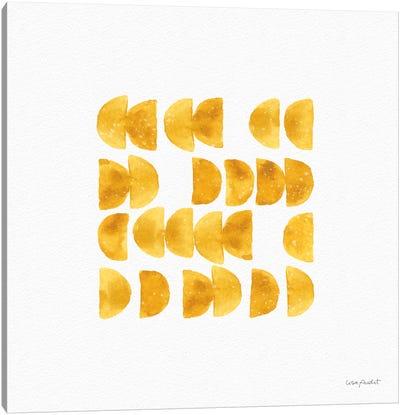 Happy Yellow XIIA Canvas Art Print