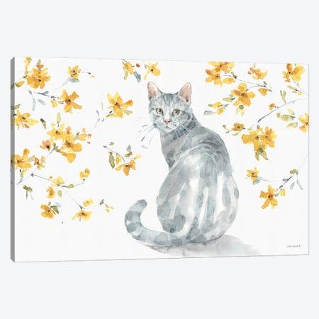 Happy Yellow XIVA Canvas Print #UDI216} by Lisa Audit Canvas Print