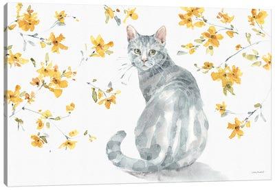 Happy Yellow XIVA Canvas Art Print