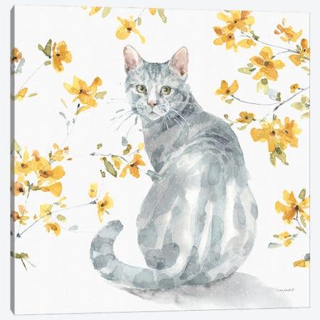Happy Yellow XIVB Canvas Print #UDI217} by Lisa Audit Art Print