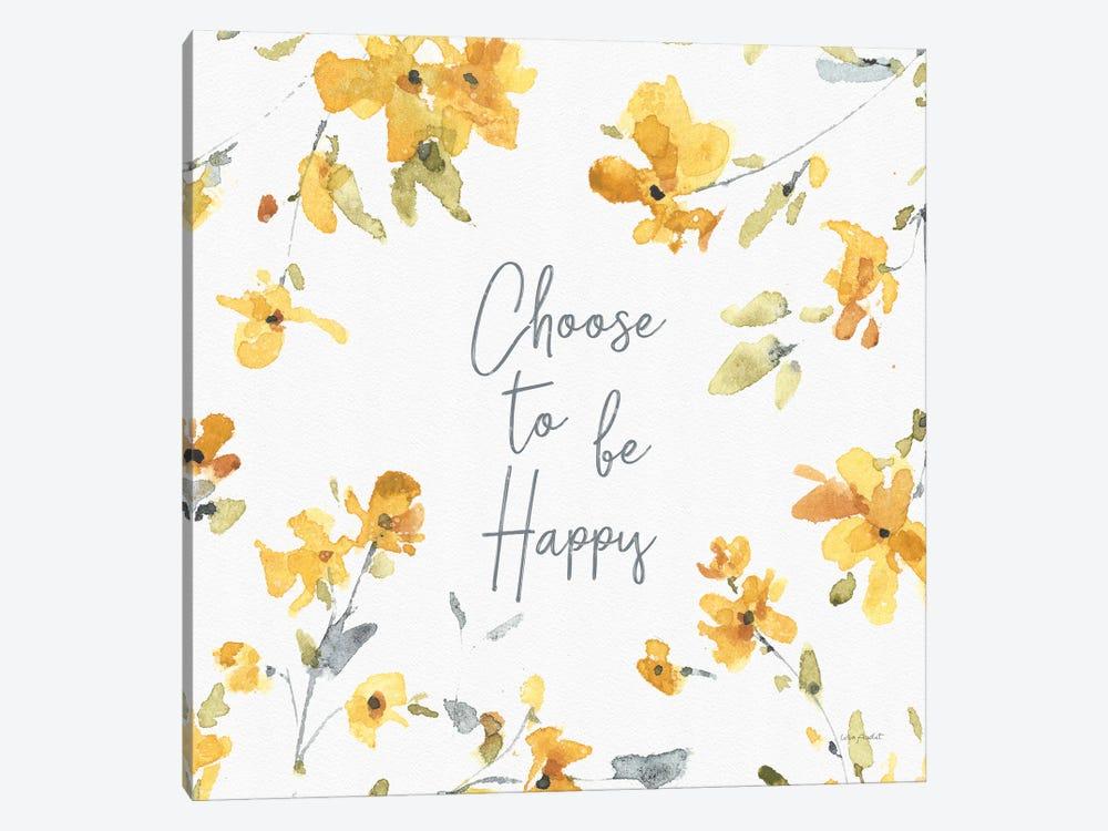 Happy Yellow XXA by Lisa Audit 1-piece Canvas Art Print