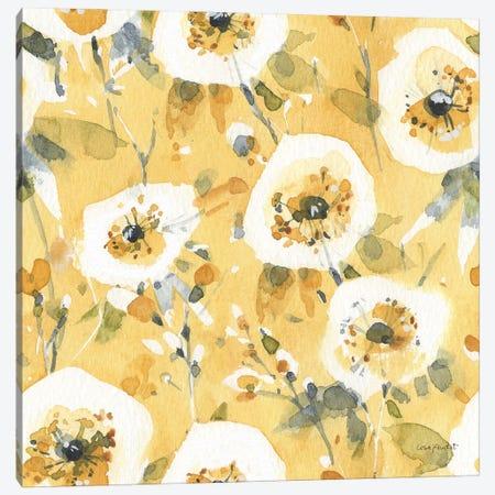 Happy Yellow XXIIIA Canvas Print #UDI227} by Lisa Audit Canvas Wall Art