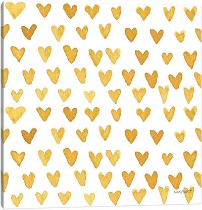 Happy Yellow XXIVA Canvas Art Print