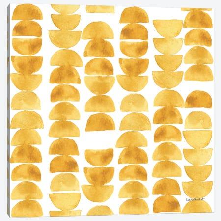 Happy Yellow XXIXA Canvas Print #UDI233} by Lisa Audit Canvas Art