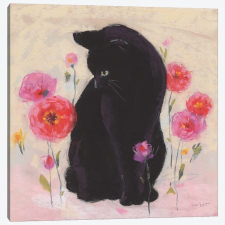 Nina the Cat I 3-Piece Canvas #UDI242} by Lisa Audit Art Print