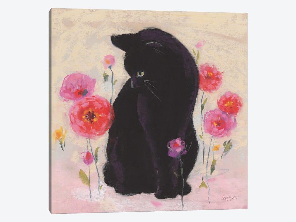 Nina the Cat I by Lisa Audit 1-piece Canvas Art
