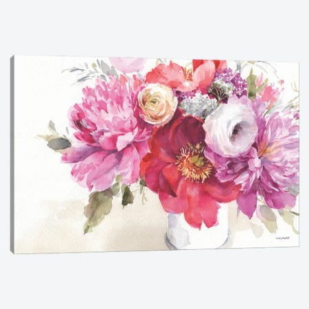 Obviously Pink IA Canvas Print #UDI244} by Lisa Audit Canvas Art