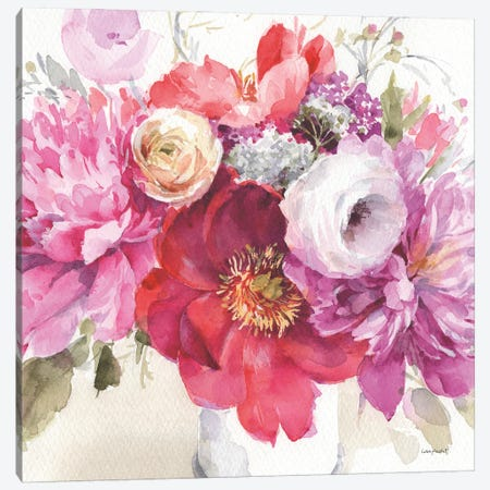 Obviously Pink IB Canvas Print #UDI245} by Lisa Audit Canvas Artwork
