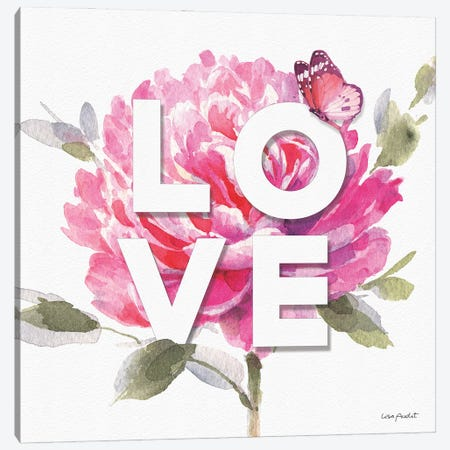 Obviously Pink VIIA Canvas Print #UDI251} by Lisa Audit Canvas Art